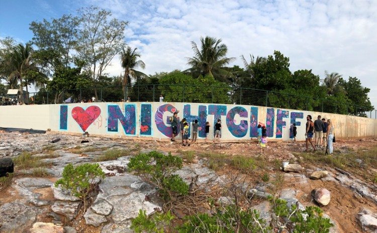Nightcliff seawall