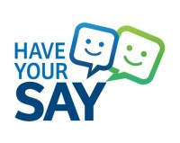 Have your say - community consultation graphic