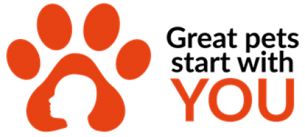 Great pets start with you logo