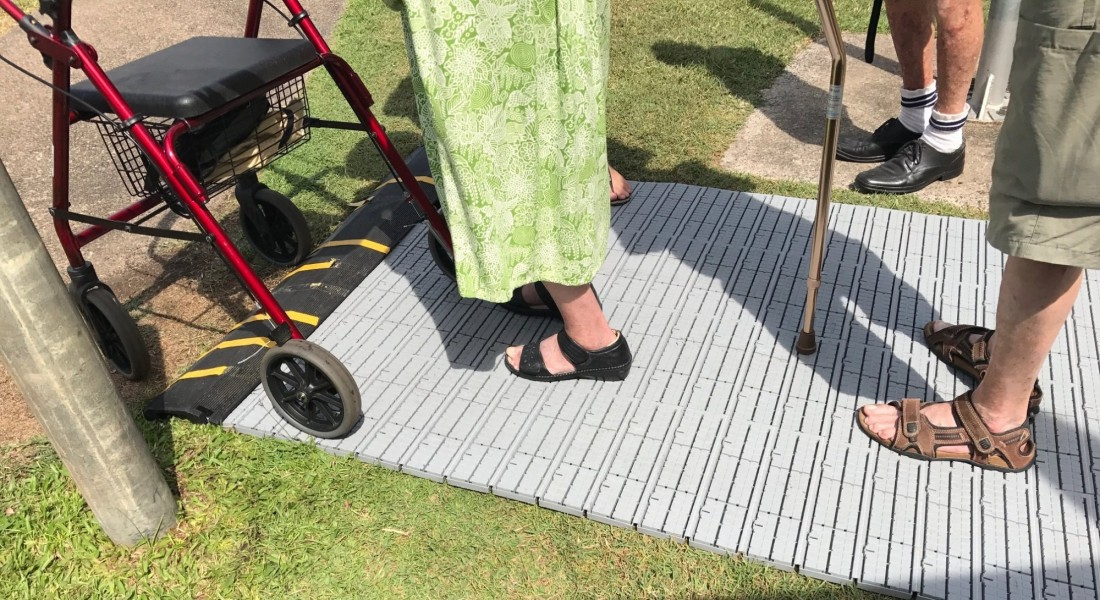 Accessible Flooring in use