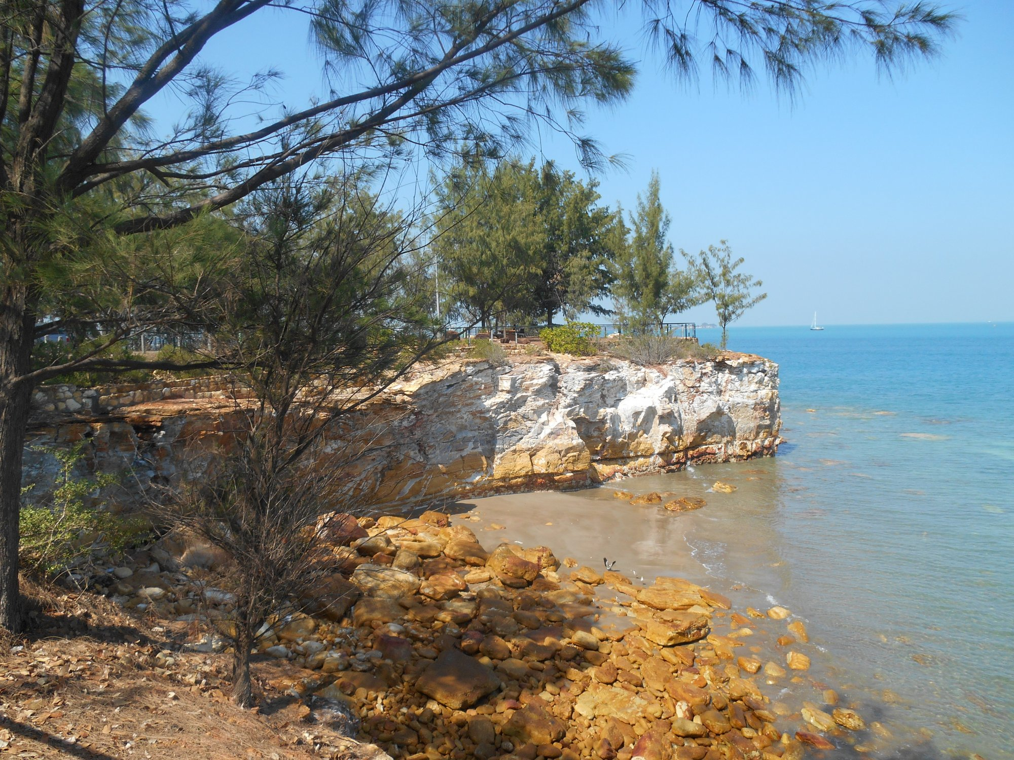 eastpoint cliffs and foreshore